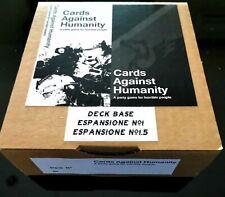 Cards Against Humanity -TRADOTTO IN ITALIANO- Mazzo base + espansioni 1.0-1.5