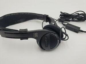 Radio Shack Optimus Pro 35 Titanium Diaphragm Stereo Headphones WORKS GREAT