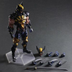 VARIANT PLAY ARTS KAI COLLECTIBLE WOLVERINE Action Figure Toy New In BOX