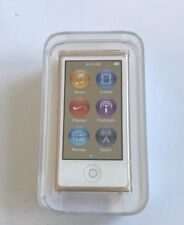 Apple iPod Nano 7th Generation 16GB - Gold - Brand New & Sealed - Gift