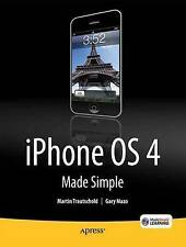 USED (GD) iPhone 4 Made Simple (Madesimple Learning) by Martin Trautschold