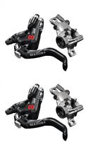 Magura mt8 pro HC 1-dedo Black/cromo Edition delantero + atrás 1 pares modellj. 2020