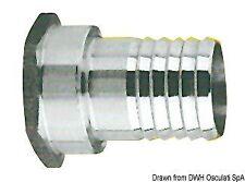 Portagomma inox femmina 1/2 x 15 mm | Marca Osculati | 17.210.02