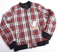 Ashley by 26 International Girls Reversible Jacket Coat Sz Large Black Nwt New