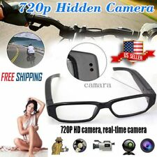 Portable 720P HD Spy Hidden Camera Glasses Eyeglass Sunglasse Cam DVR Camcorder
