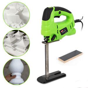 Electric Reciprocating Cutting Machine Sponge Foam Rubber Cutter +20cm Saw Blade