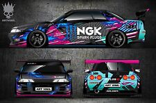 Car Side and Hood Decal Custom Full Body Color Sticker Nismo Nissan Drift Paint