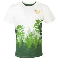 NINTENDO Legend of Zelda Hyrule Forrest Sublimation T-Shirt Large TS108707ZEL-L
