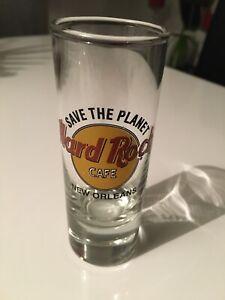 Hard Rock Cafe Schnaps Shot Glas HRC shot glass New Orleans