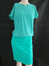 s.Oliver Kleid Gr. 170 Kleid   figurumspielend elastisch  grün  Sommerkleid