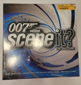 Scene It? 007 James Bond Edition Sean Connery  The DVD Game New In Box 2004