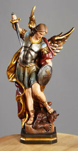 "12"" Resin Saint Michael the Archangel Feast Day September 29th"