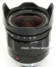 Voigtlander ULTRON 21mm F1.8 ASPHERICAL Leica M Konica HEXAR Rangefinder Lens