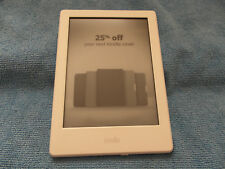 Amazon Kindle E-Reader 4GB, Wi-Fi - White