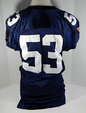 2003 Virginia Cavaliers  #53 Game Used  Blue Jersey