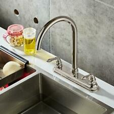 Simple Style 2 Handle Mobile Home Kitchen Sink Faucet Stainless Kitchen Faucet
