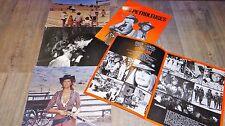 brigitte bardot LES PETROLEUSES  photos luxe cinema lobby cards 1971 + scenario