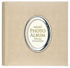 """Luxe Satin rose crème effet album photo avec ouverture 200 6 X 4"""""""