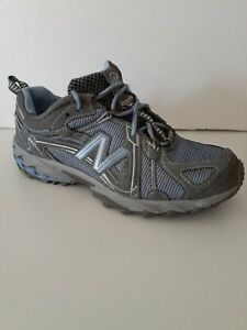 CLEARANCE* New Balance 573 Womens All Terrain Hiking Shoes Sz 9 Gray/Blue VGCond