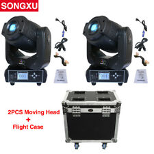 90W Gobo LED Moving Head Light Flight case 2in1 pack for Stage Theater DJ Party