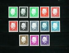 Monaco -- 13 diff MNH definitives from 1974-80 -- cv $17.75