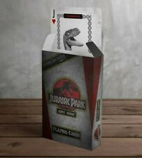 Jeu de cartes à jouer 54 cartes Jurassic Park playing card FANATTIK neuf