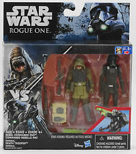 Rebel Commando Pao vs Imperial Death Trooper Star Wars Rogue One Mint In Box!