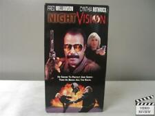 Night Vision VHS Fred Williamson, Cynthia Rothrock