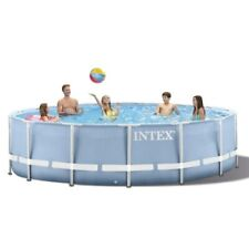 ⛱️ INTEX Prism Frame Pool Set w/ Filter Pump, Ladder, Cloth NEW