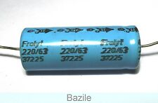3 x Condensateur chimique axial 220uF/63V                              CHA63220U