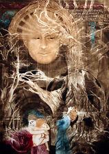 G H Rothe TENDER STRENGTH 1990 Hand Signed Mezzotint Art L@@K SUBMIT BEST OFFER!