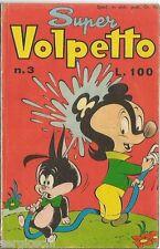 SUPER VOLPETTO # 3 - RACCOLTINA NONNA ABELARDA - APRILE 1962  - CO1