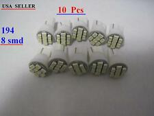 15 pairs  T10 194  8-3010SMD  White LED 6500K high power SMD