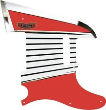 Pickguard Pickguard Scratchplate Fender Tele Telecaster Guitar Tailguard RD