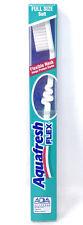 Aquafresh Flex Green Brush Soft Adult Toothbrush SmithKline Beecham VTG NOS Full