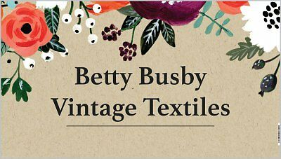 Betty Busby Vintage Textiles