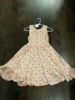 NWT Dot Dot Smile TANK Twirl Dress Summer Colorful Pineapple Print