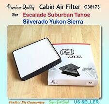 C38173 CABIN AIR FILTER FOR SILVERADO TAHOE SUBURBAN YUKON SIERRA ESCALADE 15-17