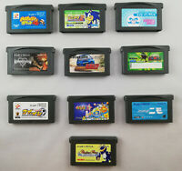 Game Boy Advance 10 Games Bundle (List in the description) - GBA - Japan Import