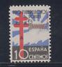 ESPAÑA (1938) NUEVO SIN FIJASELLOS MNH SPAIN - EDIFIL 866 (10 cts) LOTE 4
