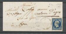 1856 Lettre N°14 Obl PC2929 T22 perlé SOS LOT&GARONNE(45) X2683
