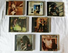 7 SRV STEVIE RAY VAUGHAN Music CDs Couldn't Stand the Weather and more