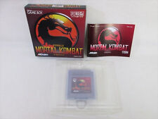 MORTAL KOMBAT Mint Condition Game Boy Nintendo Japan Video Game gb