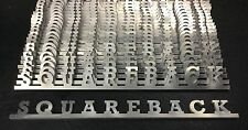 "VW AirCooled ""Squareback"" Script Emblem   Prt# VRD281"