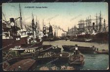 Hamburg-Hansa-Hafen-Schiffe-Dampfer-Frachter-Wiener kunstverlag