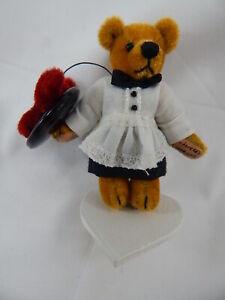 "World of Miniature Bears 2.5"" Plush Bear Vera #1134 CLOSING"