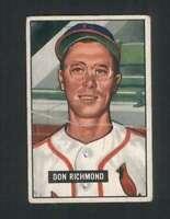 1951 Bowman #264 Don Richmond VGEX RC Rookie Cardinals 105413