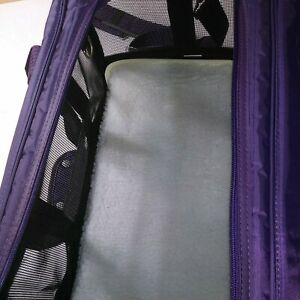 Sherpa Travel Original Deluxe Airline Approved Pet Carrier Plum Large