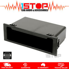 AERPRO FP9014 SINGLE-DIN POCKET EASY SNAP-IN DESIGN! dash facia fascia panel
