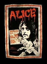 ALICE COOPER cd lgo VINTAGE POSTER TEE Official SHIRT MED New from the inside